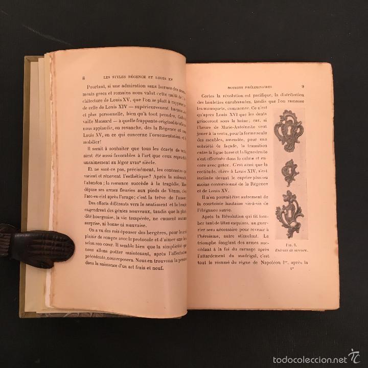 Libros antiguos: ENCUADERNACION - INTERIORISMO - ARTES DECORATIVAS - Émile BAYARD Les Styles Régence et Louis XV - Foto 9 - 60935507