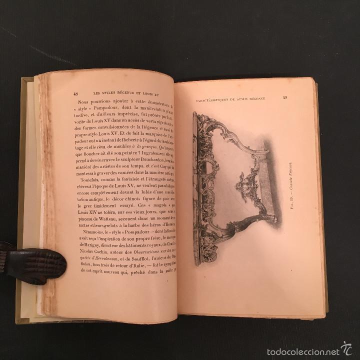 Libros antiguos: ENCUADERNACION - INTERIORISMO - ARTES DECORATIVAS - Émile BAYARD Les Styles Régence et Louis XV - Foto 10 - 60935507