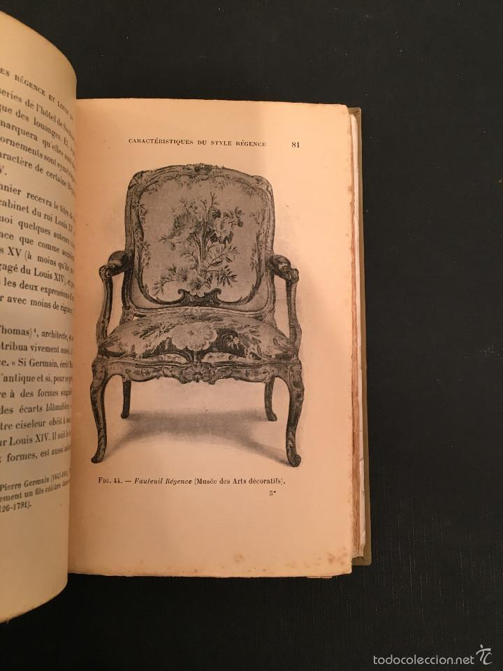 Libros antiguos: ENCUADERNACION - INTERIORISMO - ARTES DECORATIVAS - Émile BAYARD Les Styles Régence et Louis XV - Foto 11 - 60935507