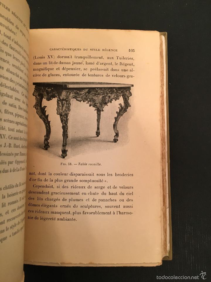 Libros antiguos: ENCUADERNACION - INTERIORISMO - ARTES DECORATIVAS - Émile BAYARD Les Styles Régence et Louis XV - Foto 12 - 60935507