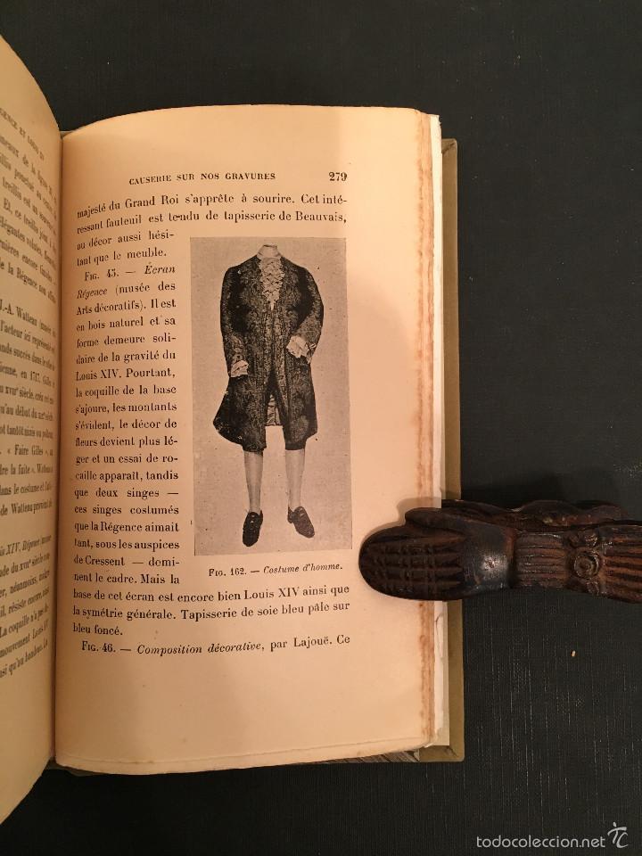 Libros antiguos: ENCUADERNACION - INTERIORISMO - ARTES DECORATIVAS - Émile BAYARD Les Styles Régence et Louis XV - Foto 14 - 60935507