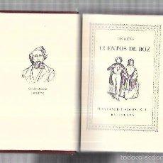 Libros antiguos: MONTANER Y SIMON. CUENTOS DE BOZ. DICKENS. SERIE LIMITADA. GRAN PAPEL. EXCEPCIONAL. AÑOS 40. Lote 60982239