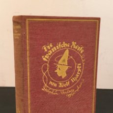 Libros antiguos: 1921 NUEVA OBJETIVIDAD - ADOLF UZARSKI: DIE SPANISCHE REISE/EL VIAJE ESPAÑOL 1ª EDICION VANGUARDIAS. Lote 61011687