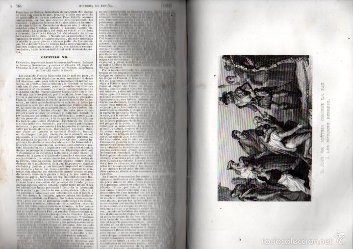 Libros antiguos: PADRE MARIANA : HISTORIA GENERAL DE ESPAÑA HASTA 1847 (LUIS TASSO) NUMEROSOS GRABADOS - Foto 5 - 61061015