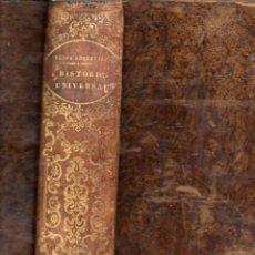 Libros antiguos: EL NUEVO ANQUETIL - HISTORIA UNIVERSAL HASTA 1848 - NUMEROSOS GRABADOS. Lote 61061503