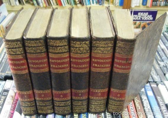 REVOLUCIÓN FRANCESA. 6 TOMOS. THIERS,M.A. A-REVO-135 (Libros Antiguos, Raros y Curiosos - Historia - Otros)