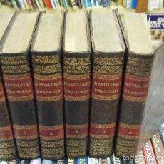 Libros antiguos: REVOLUCIÓN FRANCESA. 6 TOMOS. THIERS,M.A. A-REVO-135. Lote 61074515