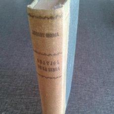 Libri antichi: ORATJOL DE LA SERRA. LIBRO OBRA DE EDUARD GIRBAL (1919). PRIMERA EDICIÓN.. Lote 61284803