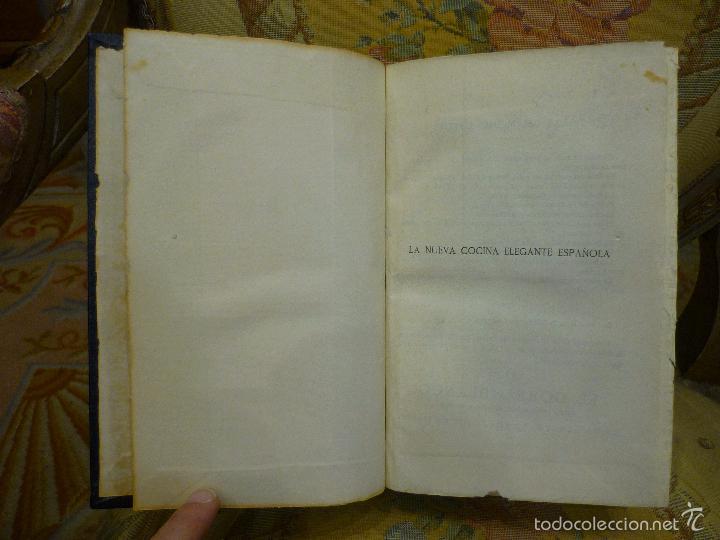 Libros antiguos: LA NUEVA COCINA ELEGANTE ESPAÑOLA, DE IGNACIO DOMÉNECH. IMPRENTA HELÉNICA 2ª EDICIÓN. - Foto 9 - 61287651