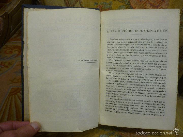 Libros antiguos: LA NUEVA COCINA ELEGANTE ESPAÑOLA, DE IGNACIO DOMÉNECH. IMPRENTA HELÉNICA 2ª EDICIÓN. - Foto 11 - 61287651