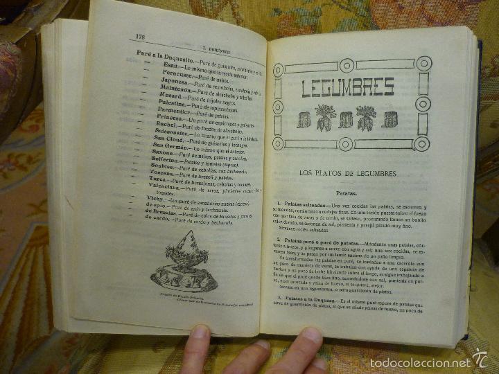 Libros antiguos: LA NUEVA COCINA ELEGANTE ESPAÑOLA, DE IGNACIO DOMÉNECH. IMPRENTA HELÉNICA 2ª EDICIÓN. - Foto 16 - 61287651