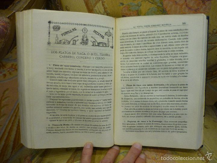 Libros antiguos: LA NUEVA COCINA ELEGANTE ESPAÑOLA, DE IGNACIO DOMÉNECH. IMPRENTA HELÉNICA 2ª EDICIÓN. - Foto 18 - 61287651