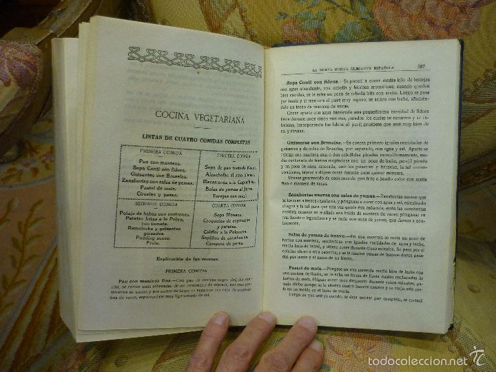 Libros antiguos: LA NUEVA COCINA ELEGANTE ESPAÑOLA, DE IGNACIO DOMÉNECH. IMPRENTA HELÉNICA 2ª EDICIÓN. - Foto 20 - 61287651
