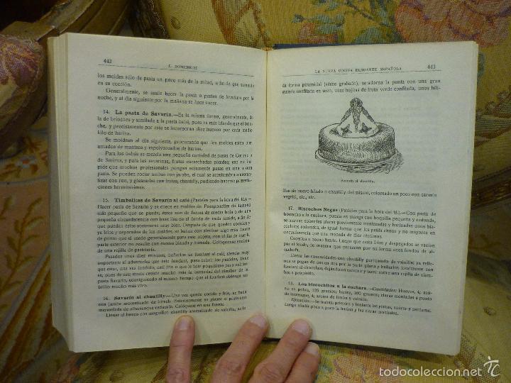 Libros antiguos: LA NUEVA COCINA ELEGANTE ESPAÑOLA, DE IGNACIO DOMÉNECH. IMPRENTA HELÉNICA 2ª EDICIÓN. - Foto 22 - 61287651