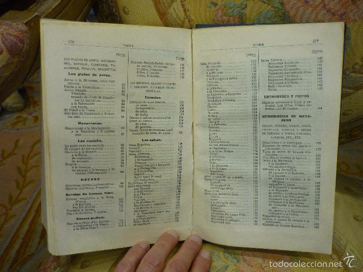 Libros antiguos: LA NUEVA COCINA ELEGANTE ESPAÑOLA, DE IGNACIO DOMÉNECH. IMPRENTA HELÉNICA 2ª EDICIÓN. - Foto 24 - 61287651