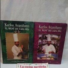 Libros antiguos: LOTE LIBROS DE COCINA -ARGUIÑANO. Lote 61533792