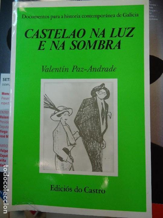 VALENTÍN PAZ-ANDRADE. CASTELAO NA LUZ E NA SOMBRA. A CORUÑA, 1982. ILUSTRADO (Libros Antiguos, Raros y Curiosos - Bellas artes, ocio y coleccionismo - Otros)