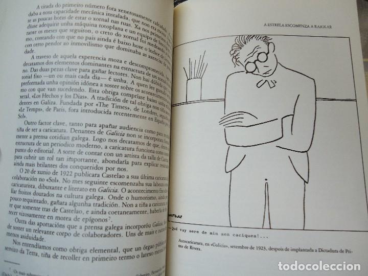 Libros antiguos: Valentín Paz-Andrade. Castelao na luz e na sombra. A Coruña, 1982. ilustrado - Foto 4 - 75238013