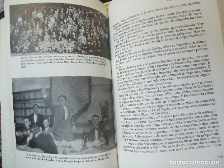 Libros antiguos: Valentín Paz-Andrade. Castelao na luz e na sombra. A Coruña, 1982. ilustrado - Foto 5 - 75238013