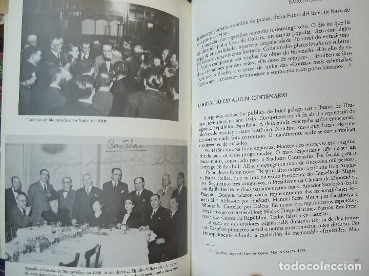 Libros antiguos: Valentín Paz-Andrade. Castelao na luz e na sombra. A Coruña, 1982. ilustrado - Foto 7 - 75238013
