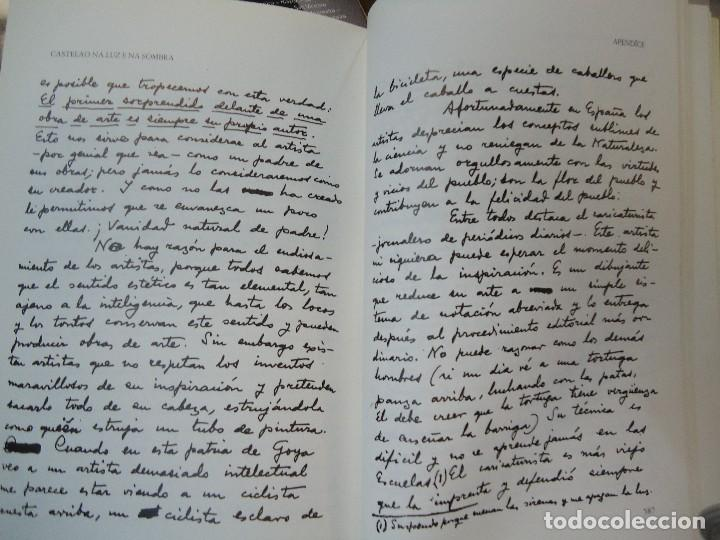 Libros antiguos: Valentín Paz-Andrade. Castelao na luz e na sombra. A Coruña, 1982. ilustrado - Foto 8 - 75238013