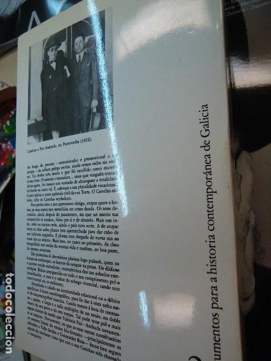 Libros antiguos: Valentín Paz-Andrade. Castelao na luz e na sombra. A Coruña, 1982. ilustrado - Foto 9 - 75238013