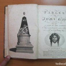 Libros antiguos: FABLES, 1793. JOHN GAY . POSEE 67 GRABADOS.. Lote 61557980