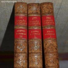 Alte Bücher - España Sagrada. Asturias. Mases/ediciones. Tres tomos. - 61576664