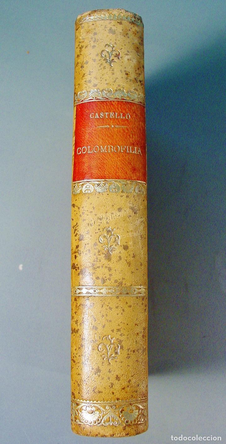COLOMBOFILIA. ESTUDIO COMPLETO DE LAS PALOMAS MENSAJERAS. SALVADOR CASTELLÓ. 1906. BARCELONA (Libros Antiguos, Raros y Curiosos - Ciencias, Manuales y Oficios - Otros)