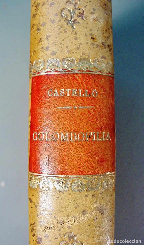 Libros antiguos: COLOMBOFILIA. ESTUDIO COMPLETO DE LAS PALOMAS MENSAJERAS. SALVADOR CASTELLÓ. 1906. BARCELONA - Foto 2 - 61740604