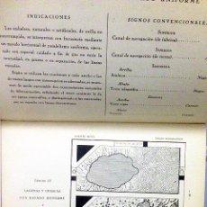 Libros antiguos: MEGÍA : DIBUJO TOPOGRÁFICO. (1932). 60 LÁMINAS.. Lote 61741800