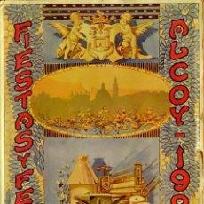 Libros antiguos: FIESTAS Y FERIA ALCOY 1926. Lote 61837980
