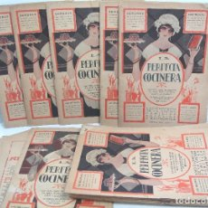 Libros antiguos: LIBRO 19X ENTREGAS - LA PERFECTA COCINERA - ENCICLOPEDIA COCINA ECONOMICA - PAEZ 1928 - COLECCION. Lote 61889500