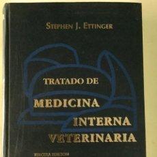Libros antiguos: TRATADO DE MEDICINA INTERNA VETERINARIA. TOMO 1. INTERMÉDICA.. Lote 61889912