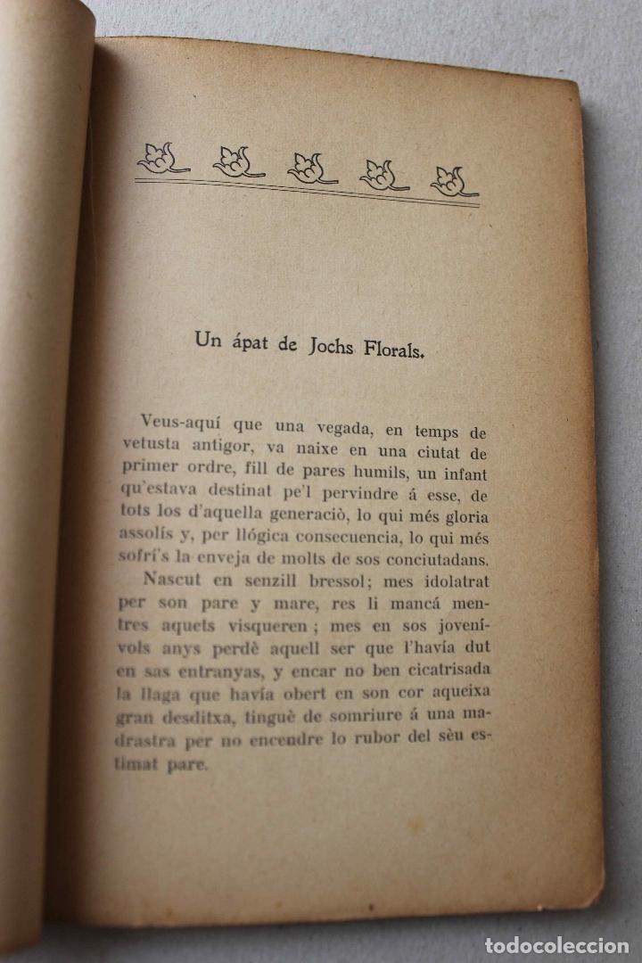 Libros antiguos: Un ápat de Jochs Florals. Cartas d'un pare, d'un fill, una mare y un rector. Soler Casas. 1904 - Foto 4 - 61904816