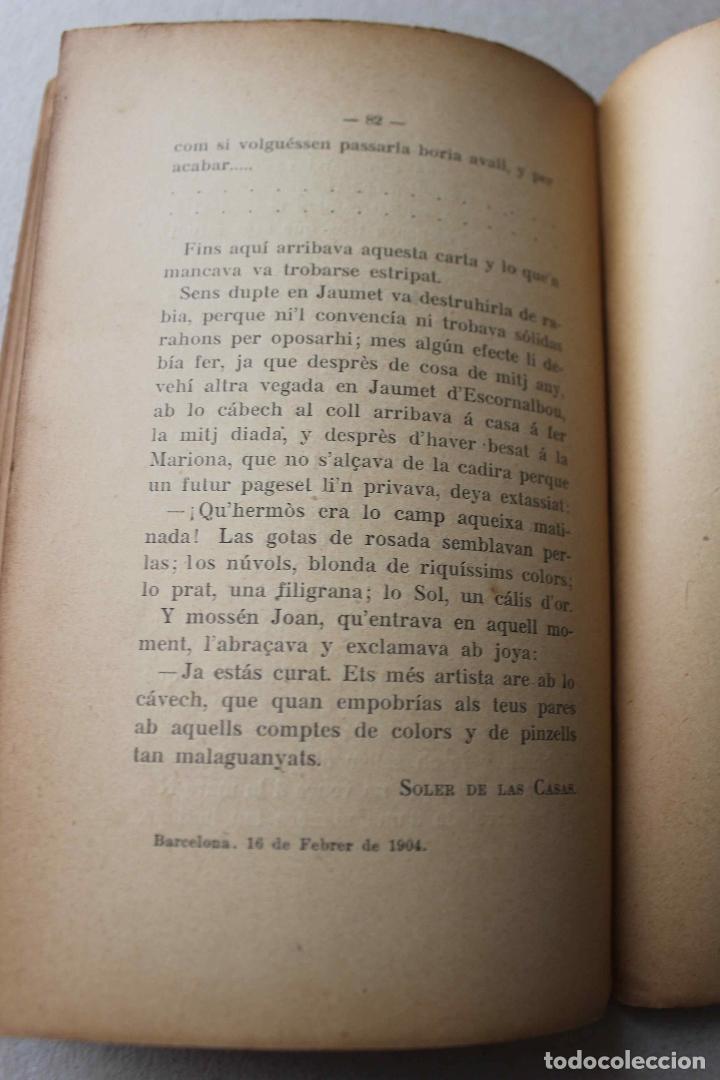Libros antiguos: Un ápat de Jochs Florals. Cartas d'un pare, d'un fill, una mare y un rector. Soler Casas. 1904 - Foto 5 - 61904816