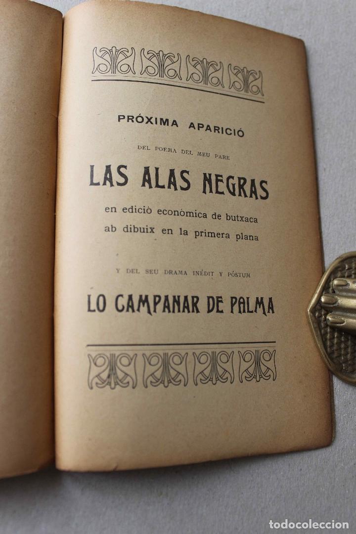 Libros antiguos: Un ápat de Jochs Florals. Cartas d'un pare, d'un fill, una mare y un rector. Soler Casas. 1904 - Foto 7 - 61904816