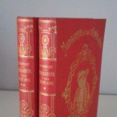 Libros antiguos: MARGARITA A LOS VEINTE AÑOS - MONNIOT- PRECIOSA ENCUADERNACIÓN 1903. Lote 61912088