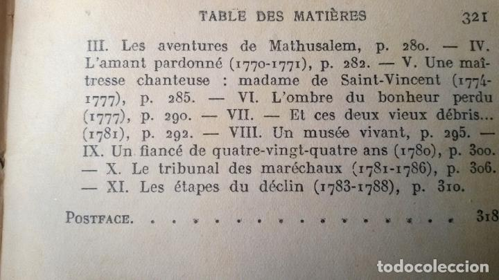 Libros antiguos: Les conquetes d'amour et de gloire du meréchal, duc de RICHELIEU .. Por Paul Reboux 1929 - Foto 7 - 19046767