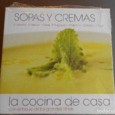 Libros antiguos: SOPAS Y CREMAS ,LA COCINA DE CASA. Lote 61978200