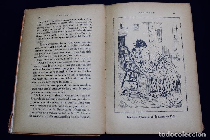 Libros antiguos: L- 3980. NAPOLEON, ENRIQUE COSSI. GIGANTES DE LA HISTORIA. ED. JOSE BALLESTA. - Foto 4 - 61980708