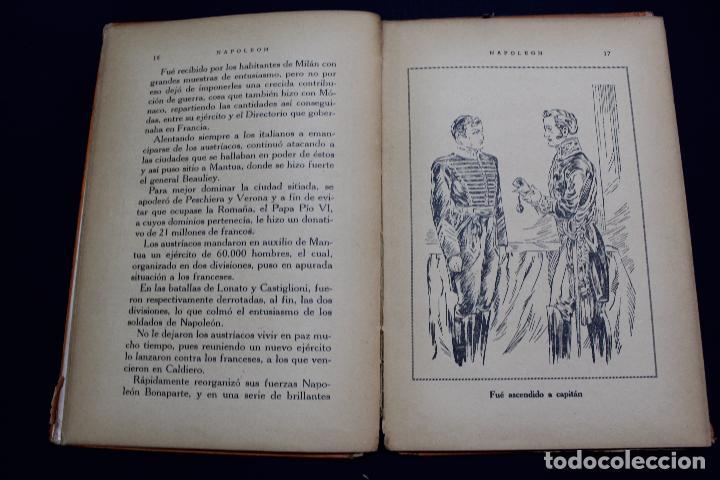 Libros antiguos: L- 3980. NAPOLEON, ENRIQUE COSSI. GIGANTES DE LA HISTORIA. ED. JOSE BALLESTA. - Foto 5 - 61980708