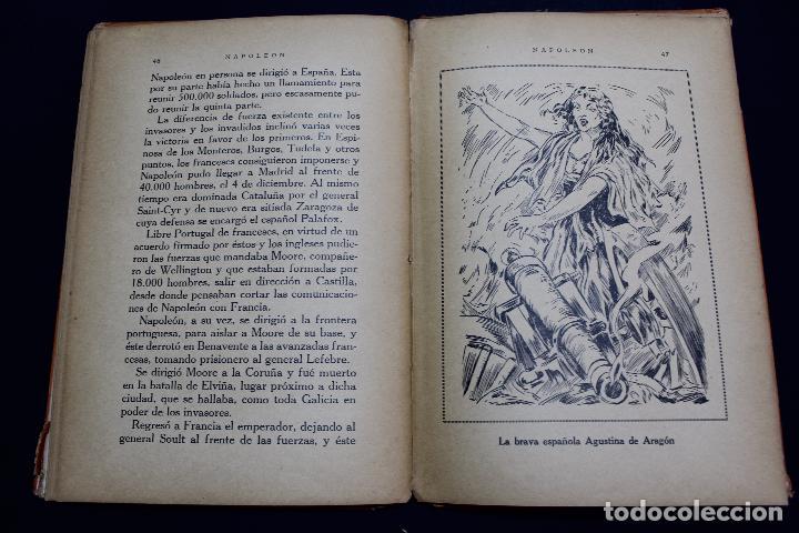 Libros antiguos: L- 3980. NAPOLEON, ENRIQUE COSSI. GIGANTES DE LA HISTORIA. ED. JOSE BALLESTA. - Foto 6 - 61980708