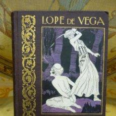 Libros antiguos - LOPE DE VEGA, SUS MEJORES OBRAS AL ALCANCE DE LOS NIÑOS, POR PEDRO UGARTE. ILUSTRADO. - 61982316