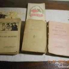 Libros antiguos: ANTIGUO LOTE DE 4 LIBROS DE DIFERENTES TEMAS Y AÑOS. Lote 62009548