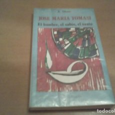 Libros antiguos: JOSE MARIA TOMASI. Lote 62027072