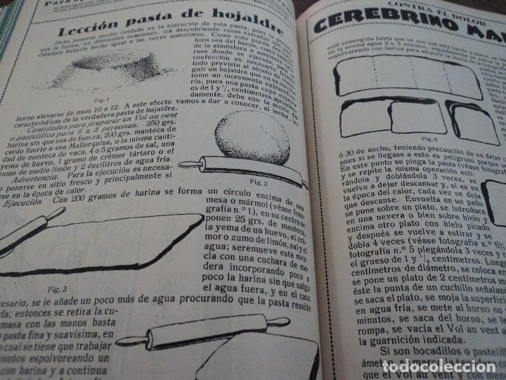 Libros antiguos: revistas recetas de cocina menage encuadernadas no orden correlativo 1932/34 - Foto 4 - 62066160