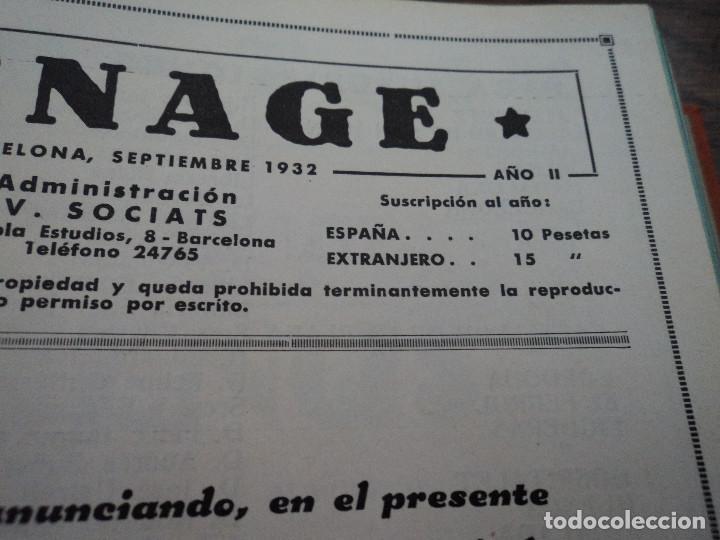 Libros antiguos: revistas recetas de cocina menage encuadernadas no orden correlativo 1932/34 - Foto 7 - 62066160