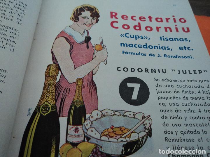 Libros antiguos: revistas recetas de cocina menage encuadernadas no orden correlativo 1932/34 - Foto 9 - 62066160