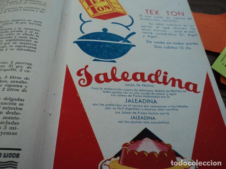 Libros antiguos: revistas recetas de cocina menage encuadernadas no orden correlativo 1932/34 - Foto 10 - 62066160